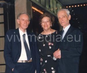 Mario Luzi, Maria Luisa Spziani e Giorgio Caproni