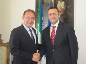 Edmondo Cirielli e Amilcare Mancusi