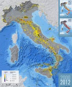 ingv-roma-carta-sismicita-2000-2012-vivimedia