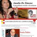 Locandina incontro con Amalia De Simone