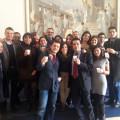 Un gruppo di giovani avvocati all'Assemblea AIGA di Dicembre