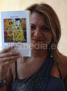 Stefania Cataldo mostra il suo libro