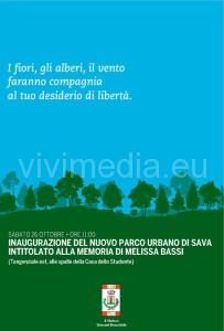 intitolazione-parco-melissa-bassi-ottobre-2013-vivimedia