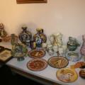 Lo splendente gruppo di ceramiche di vario genere targate Lo Vito