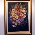 Un fiore della magnifica pittura floreale di Niny Lo Vito
