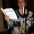 Dirigente del I Circolo Didattico, Ester Cherri, porge la sua nota di saluto, in attesa delle note …