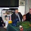La Direttrice Armida Lisi, il Presidente Massimo De Gennaro, l'Arcivescovo Mons. Orazio Soricelli