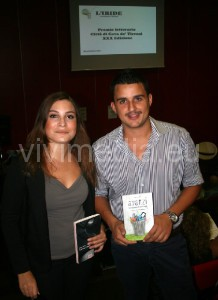 """Chiara Polese e Pippo Zarrella mostrano con orgoglio i loro """"parti"""" vincenti"""