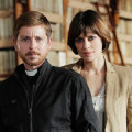 """Gioè e Claudia Pandolfi in  una scena di """"Il tredicesimo apostolo 2 - La rivelazione"""""""