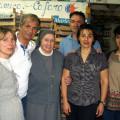 """I Cafaro insieme con Suor Eugenia Bonetti e Antonio Armenante, rispettivamente vincitrice ed ideatore del Premio """"Mamma Lucia alle Donne Coraggio"""""""