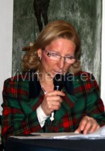 Lettura di brani danteschi da parte di Lucia Criscuolo