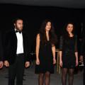 I magnifici cinque avanzi recitanti: Antonio Coppola, Pietro Paolo Parisi, Anna Rapoli, Rosario Volpe, Lella Zarrella