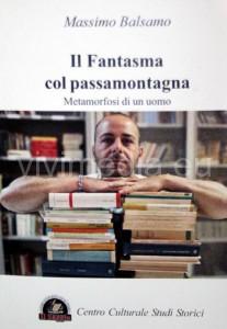 """La copertina del romanzo """"Il fantasma col passamontagna"""" di Massimo Balsamo, detenuto dell'ICATT di Eboli"""