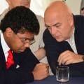 Il segretario di sezione Gennaro Thiago Nenna con Marco Rizzo