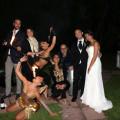 Artisti NSS all'opera durante un matrimonio