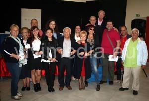 Un gruppo di organizzatori e concorrenti  dopo la premiazione