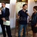 Le interviste dopo la conferenza stampa