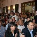 Festa in sala. In prima fila il Segretario PD Giuseppe Aleotti