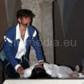 Il pianto disperato di Romeo per la presunta morte di Giulietta