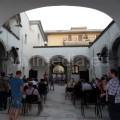 Il bel cortile cinquecentesco di Casa Apicella