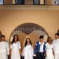 Romeo e Giulietta, appena risorti, ringraziano il pubblico