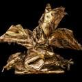 LiberArsi-scultura-di-V-Vavuso-fatta-tutta-con-pagine-di-giornale
