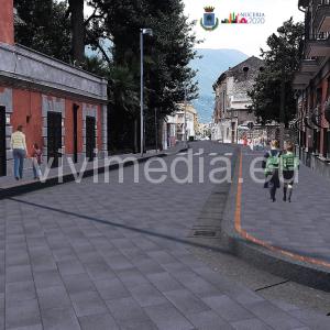 NOCERA SUPERIORE (SA). Led, marciapiedi, aree verdi ed arredo urbano ...