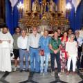 Padre Giuseppe Ragalmuto consegna il premio Silvio Albano