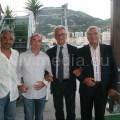 Da sinistra, Vincenzo-Vavuso, Stefano Petrucci, il Sindaco di Salerno Vincenzo Napoli, il Presidente Giovanni Carrella