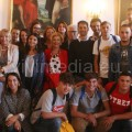 Foto di gruppo al termine dell'incontro mattutino
