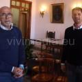 Giuseppe Catozzella con Vincenzo Passa