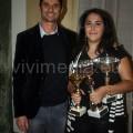 I due vincitori assoluti, Giuseppe Catozzella e Claudia Sessa