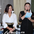 Teresa D'Amico con l'Editrice Stefania Spisto
