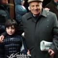 Gaetano Panza con il nipote puntella Gaetano