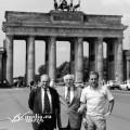 Gaetano Panza con Eugenio Abbro e Alfonso Senatore a Berlino