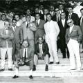 Una storica foto di gruppo principi del foro anni '50