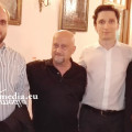 Da sin.: Gabriele Cavaliere, Felice Cavaliere, Alexander Romanovsky, Eufemia Filoselli