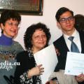 Alfonso Maria D Somma con le sue professoresse